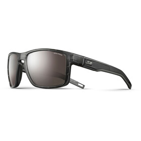Julbo Shield Spectron 4 Sunglasses translucent black/black-brown flash silver